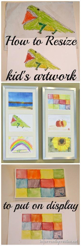 displaying-kids-artwork