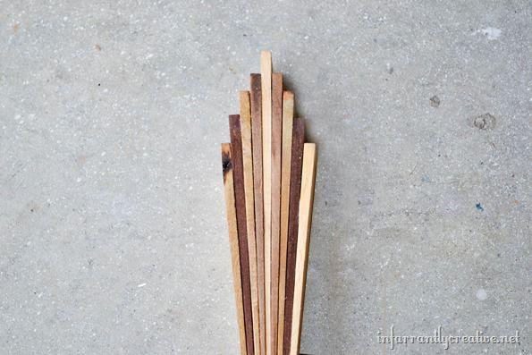 wood starburst