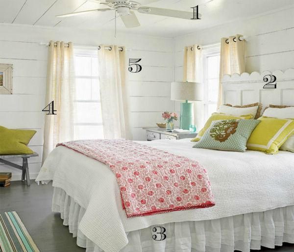 beach house bedroom. Coastal Living Inspiration Photo Numbered 5 Ways to Get this Look  Beach House Bedroom Infarrantly Creative