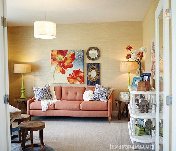 5 Ways to Get This Look:  Den Seating Area