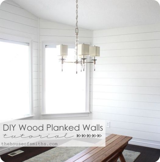 House of Smiths planked walls tutorial