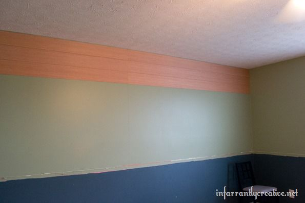 adding planks to a wall