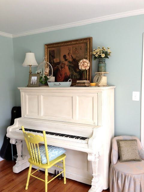 Jedi Craft Girl white painted piano