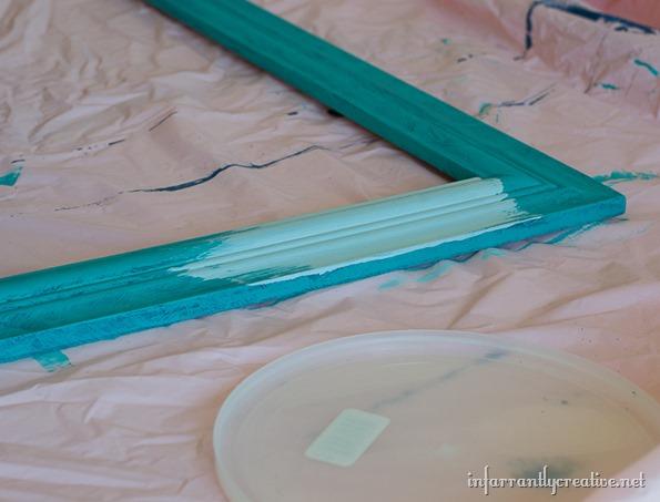 chalk paint key rack