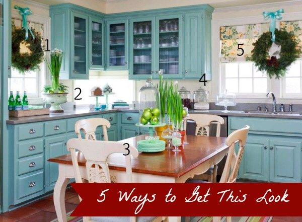 At Home in Arkansas kitchen inspiration numbered