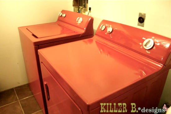 Killer B Designs painted washer