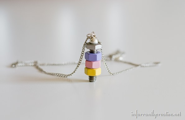 colored nuts necklace