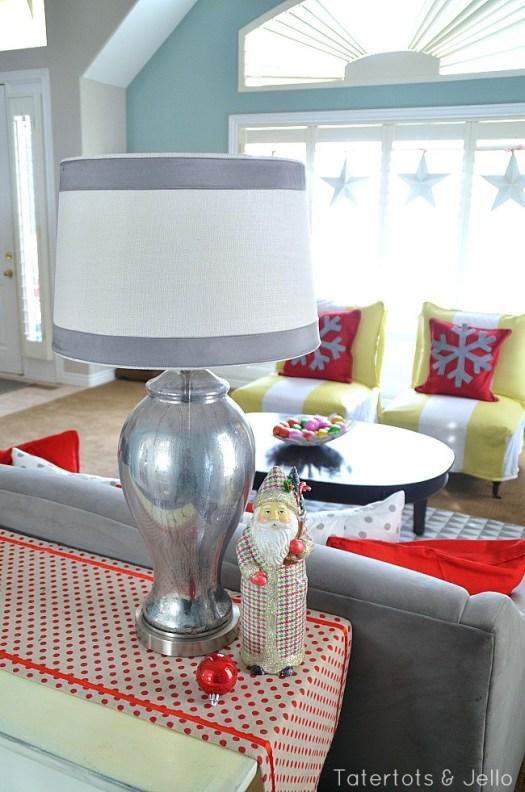 Tatertots & Jello faux mercury glass lamp