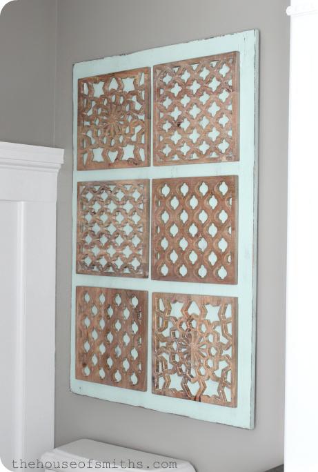 House of Smiths wood tile art