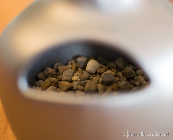 gravel in growler