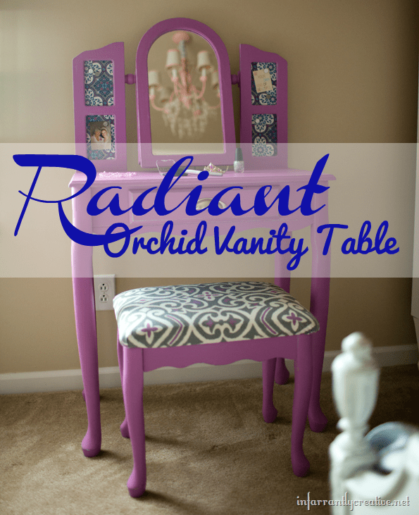 radiant-orchid-vanity-table
