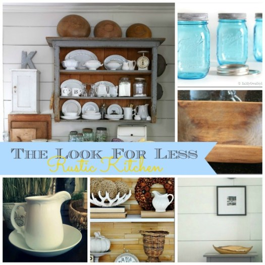 5 Ways to Get This Look:  Rustic Kitchen