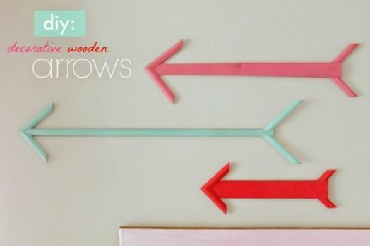 DIY Decorative Wooden Arrows from Scrap Wood