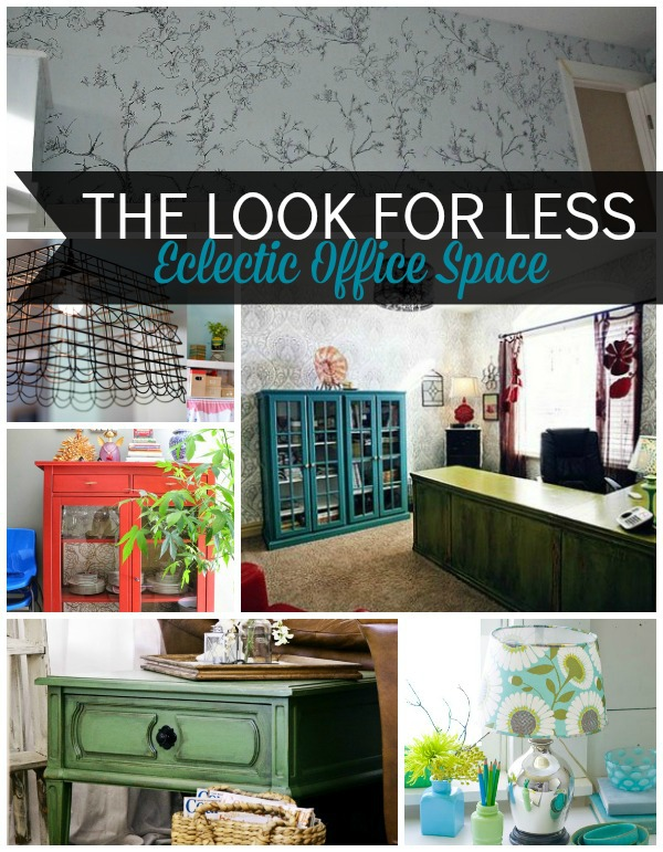 Eclectic Office 5 Ways Collage