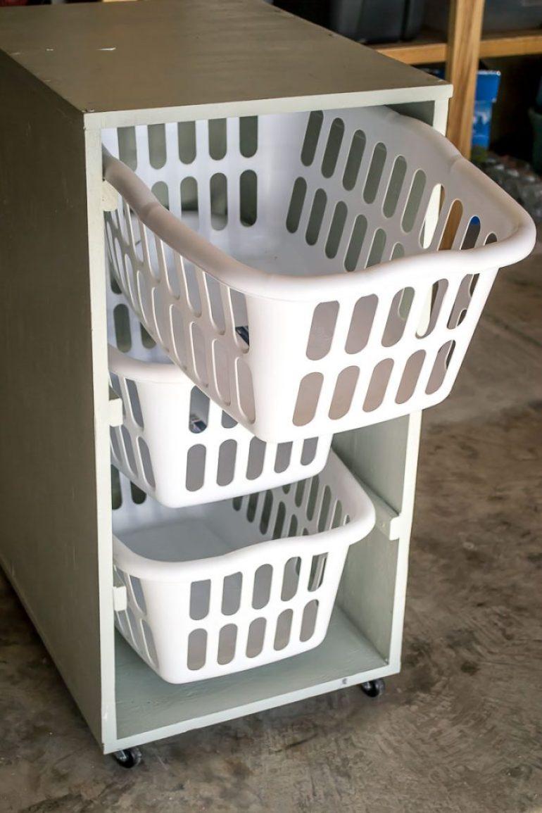 Laundry Basket Dresser Infarrantly Creative