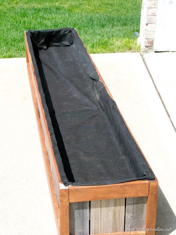 wide planter box