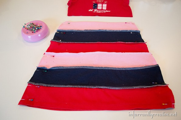 DIY tshirt dress