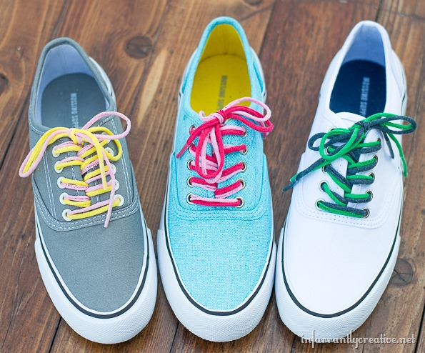how to make your own shoelaces