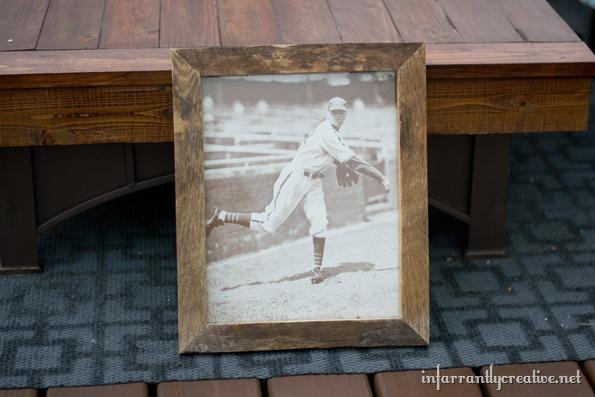 old barnwood frame