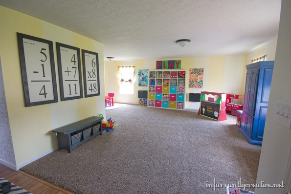 playroom decor