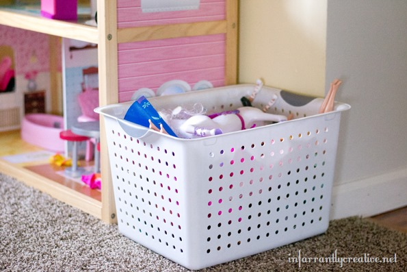 playroom storage