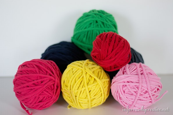 tee shirt yarn ball