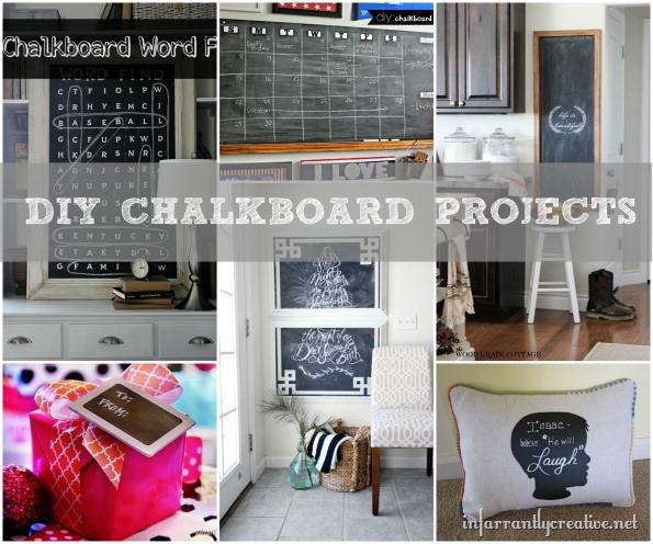DIY Chalkboard Projects