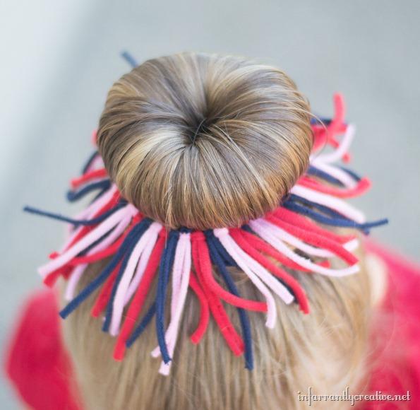 tshirt hair bow