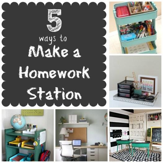 5-Ways-Make-Homework-Station