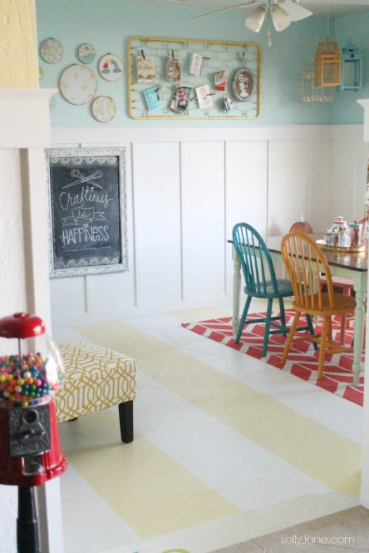 striped-painted-concrete-floor