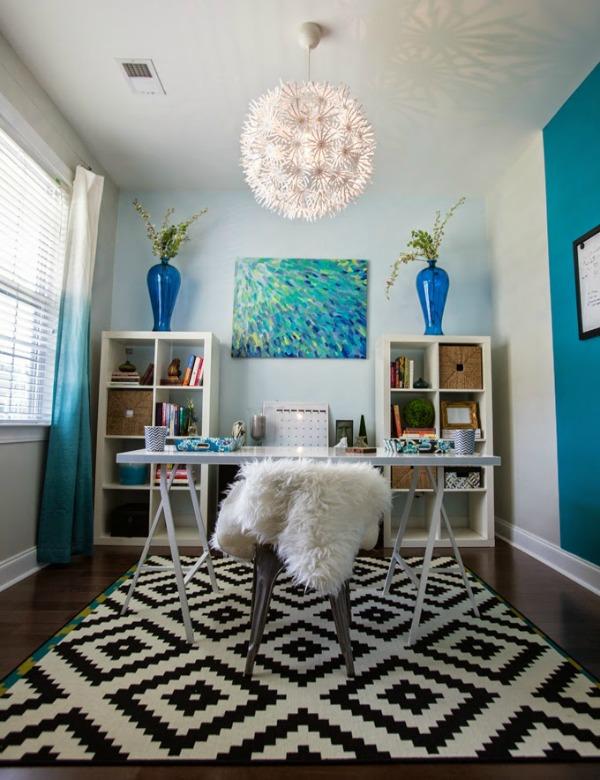 Blue Office Inspiration