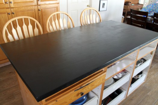 DIY-faux-soapstone-counters