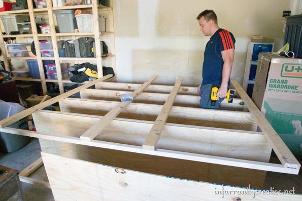 DIY-garage-shelves