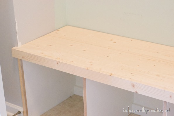 face frame bench