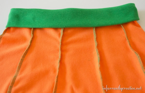 pumkin skirt waist band