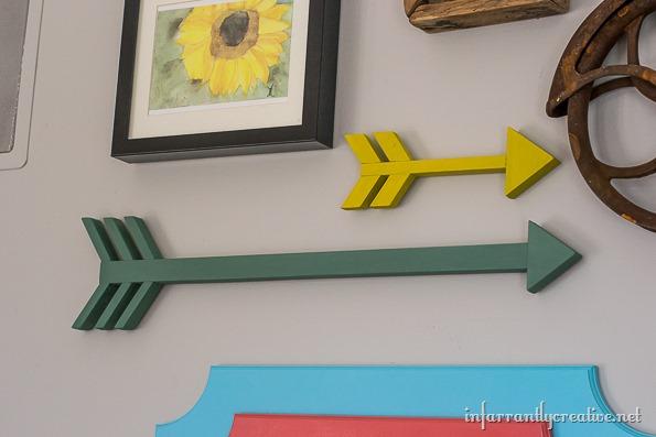 DIY arrows