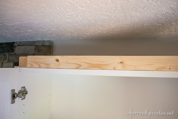 billy book case crown molding