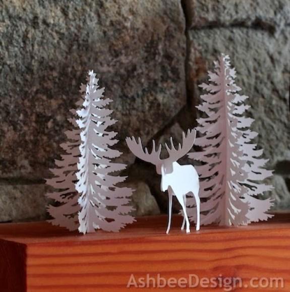 moose-evergreen-Christmas-silhouette