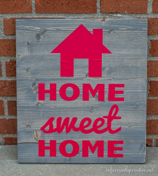 string art home sweet home