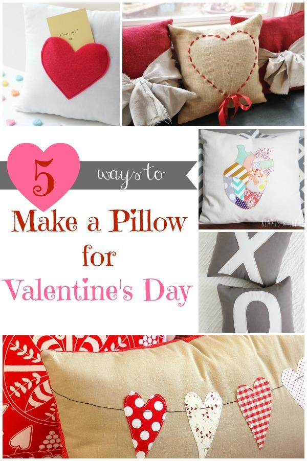 5 ways make valentine pillow - Valentine Pillow