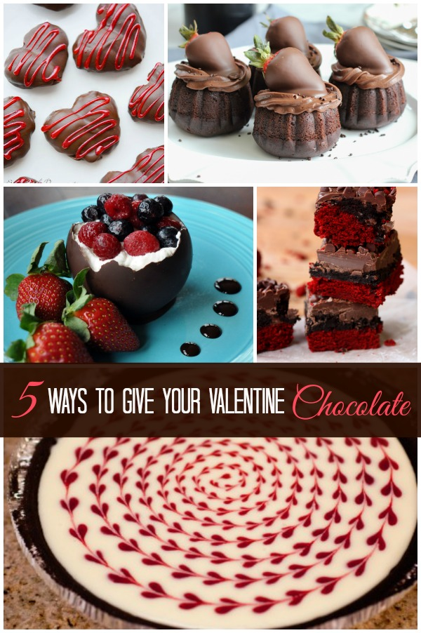 5 Ways to Give Your Valentine Chocolate