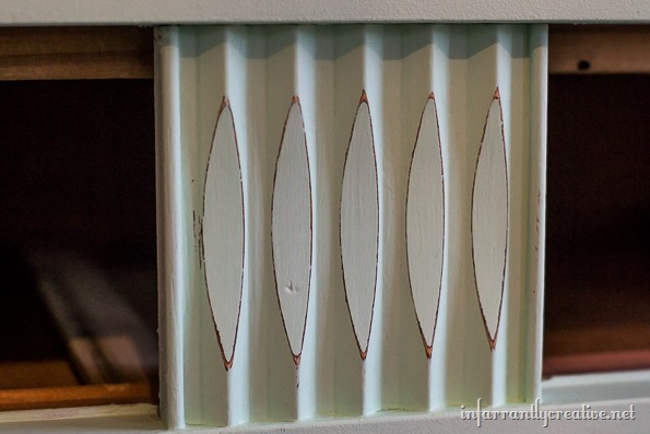 mid-century mint dresser