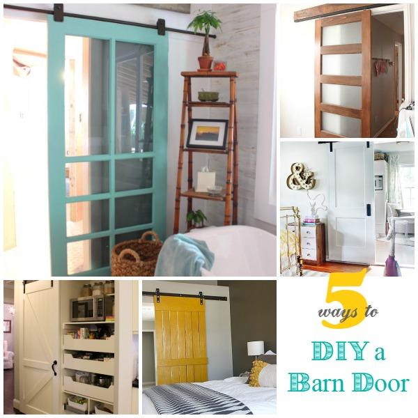 5 Ways To Make A Sliding Barn Door Infarrantly Creative