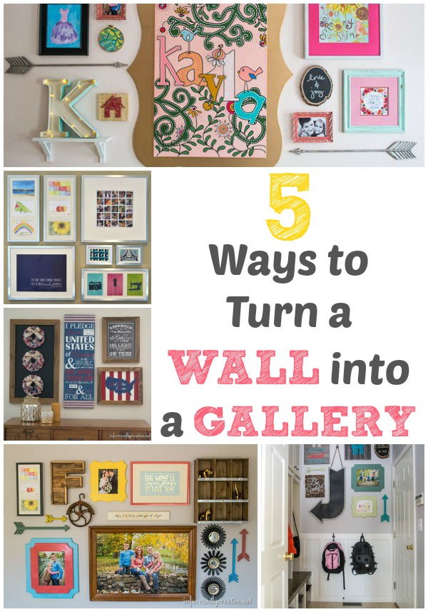 5 Ways to Turn a Wall into a Gallery