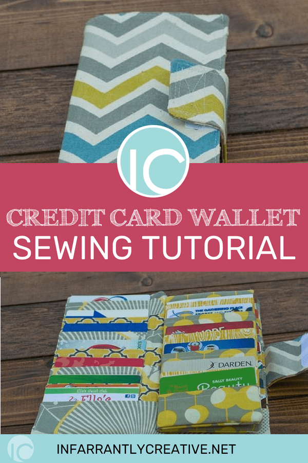 Credit card wallet sewing tutorial infarrantly creative these bad boys she decided to take on the task of helping me put them all in one place the mega card holder wallet was born all 38 pockets of it colourmoves