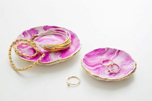 marbled-sculpey-jewelry-trays