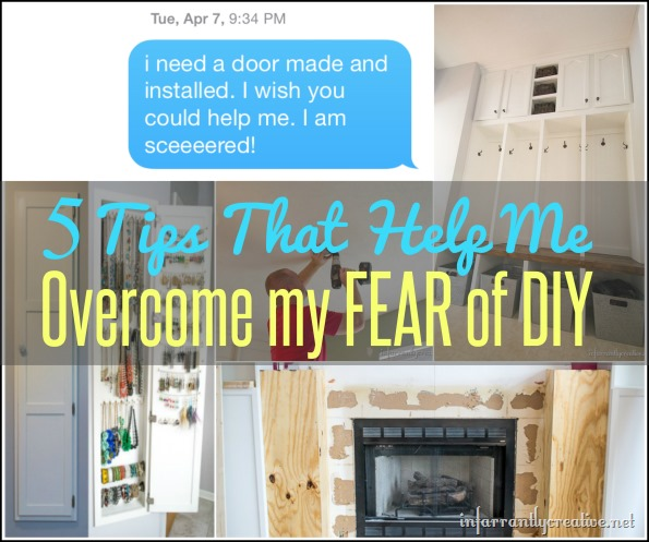 5 tips to help overcome your fear of DIY