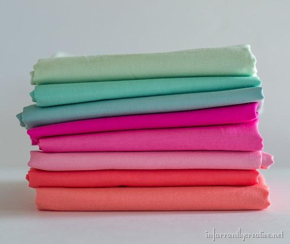 fabric for rag garland