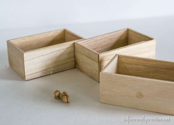 mini wood dresser drawers