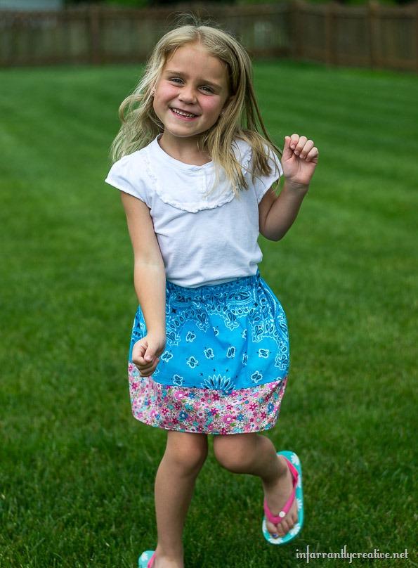 blue-bandana-skirt